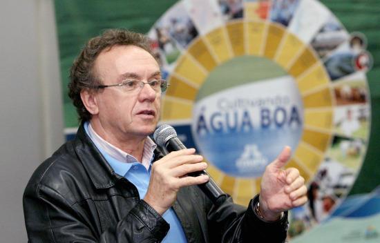 Nelton Miguel Friedrich, diretor de Coordenação e Meio Ambiente da Itaipu. Reprodução