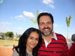 A prefeita de Valparaíso, professora Lucimar, e o governador do DF, Agnelo Queiroz. Reprodução