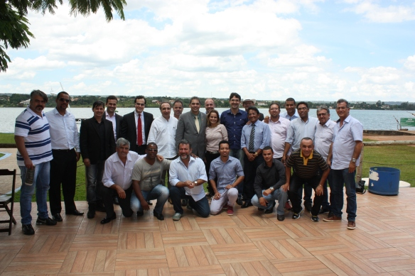 Senador Hélio José com blogueiros da ABBP.